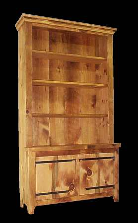 Breakfront Made From Antique Eastern White Pine.