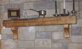Pictures of Rustic Fireplace Mantels we have made