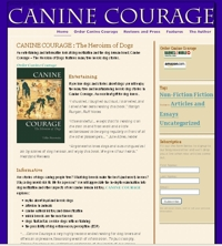 Canine Courage Book